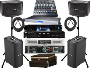 bose karaoke speakers. dj karaoke system bose 802 speaker mb4 cavs 203 usb qsc speakers