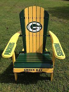 ... Green Bay Packers Folding Adirondack Chair NFL Football Tailgating ...