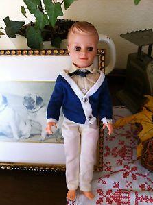 "1960's Vintage Uneeda ""Bob"" Miss Suzette's Boyfriend Doll Preppy Clothes"