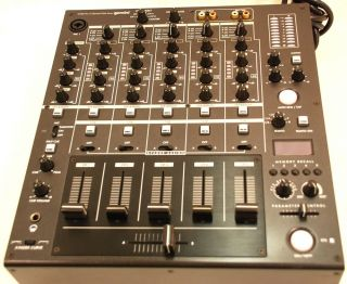 Gemini CS 02 Pro 5 Channel Club Mixer Professional Stereo DJ Mixer