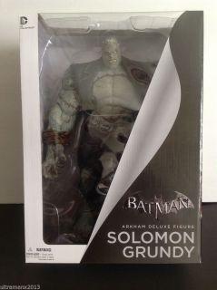 Batman Arkham City Solomon Grundy Deluxe Action Figure DC Collectibles