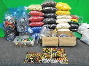 Huge 225 Pounds Lego 390 Minifigs Star Wars Harry Potter Indiana Jones and More