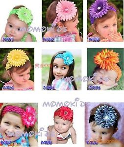 Newborn Baby Girl Christening Headband Hat Hair Clip