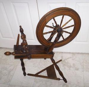 Alexr McIntosh Antique Spinning Wheel 1817