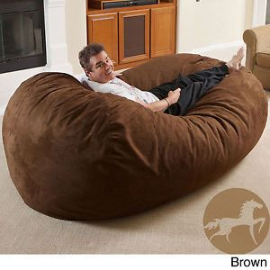 Christopher Knight Larson Faux Suede 8 Foot Lounger Bean Bag