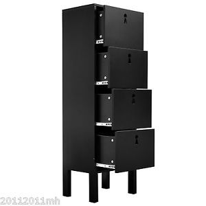 Wood Drawer Cabinet Home Office Filling Furniture Business Industrial Tool BK