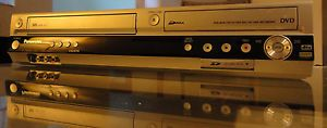 Panasonic DMR ES46V VHS DVD Recorder Combo with HDMI Remote Included SD DVDR