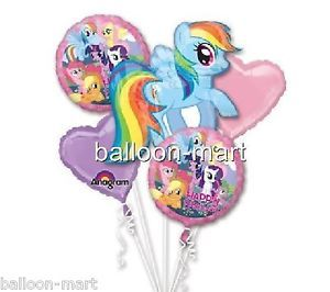 Birthday Balloons Toddler Party My Little Pony Rainbow Dash Supplies Brite New