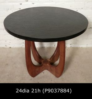 Adrian Pearsall Style Side Table w Slate Top P9037884 N