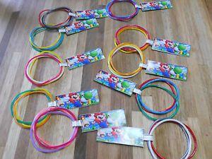 10 Sets Super Mario Birthday Party Favor Bracelets Nintendo Wii U Customizable