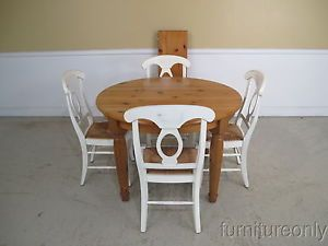 Pottery Barn Harvest Dining Table - Pottery barn pine dining table