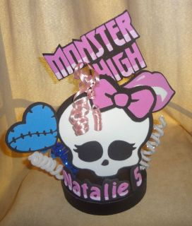 Monster High Inspired Party Centerpiece Cake Topper