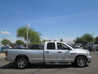 2008 Silver Cummins Turbo Diesel Automatic Long Bed Quad Cab Pickup Truck