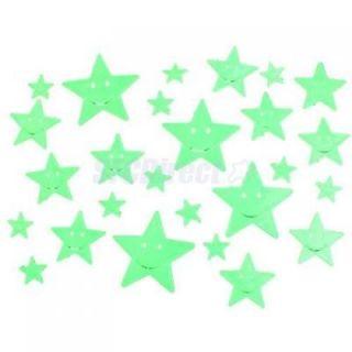 Star Stickers Glow in The Dark Baby Room Nursery Decor