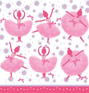 Ballerina Tutu Much Fun Tablecover Ballet Themed Girls Birthday Party Supplies