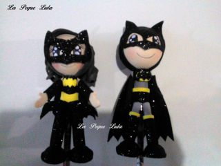 Fofuchas de Foami Decorate You Party with Beautiful Details Batman and More