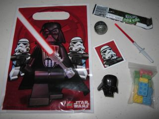 8 11 Lego Star Wars Loot Bags Fillers Blox Candy Birthday Party Favors Goody