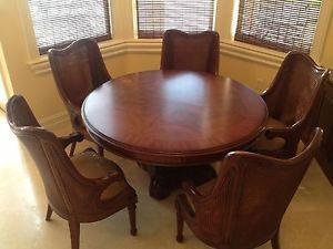 http://img0123.popscreencdn.com/181449452_drexel-heritage-round-dining-room-poker-room-game-wood-.jpg