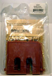 HO Scale DPM Modular Building System 30101 Street Level Arched Entry