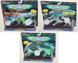 Star Trek Micro Machines Enterprise Reliant Bop 7 More