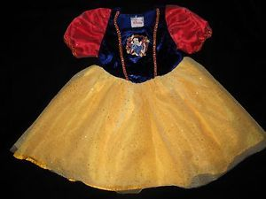 Snow White Costume Dress Up Halloween Clothes Toddler Girl Small 2