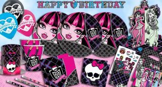 Monster High Party Decoration Celebration Girls Party