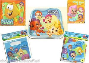 Bubble Guppies Birthday Party Invites Plates Banner Napkins Party Gift Bags