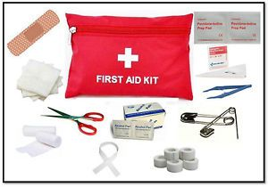 10 PC First Aid Kit Car Travel Boat Home Survival Kits Emergency Medical Safety