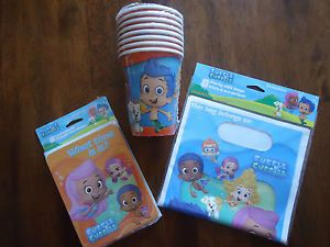 Bubble Guppies Birthday Supplies Bubble Guppies Party Favors