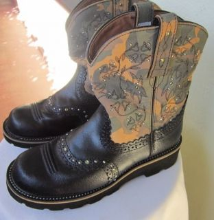 Ariat Fat Baby Women's Cowboy Western Boots Size 8 B