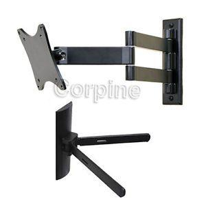 """Tilt Swivel Wall Mount for 15 27"""" LCD LED Flat Screen TV Monitor DVD Mount M40"""