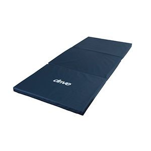 Drive Medical Tri Fold Fall Mat Bedside Bed Protection Floor Pad