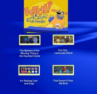 Fetch with Ruff Ruffman Games on PopScreen