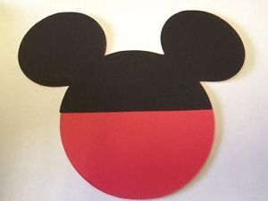 8 Mickey Mouse Heads Clubhouse Party Supplies Decor Cricut