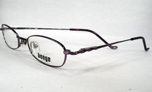 Bongo Lucky Purple Women New Eyeglasses Frames Eyewear