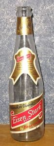 Vintage 1958 Eisen Stark 12oz Empty Beer Bottle
