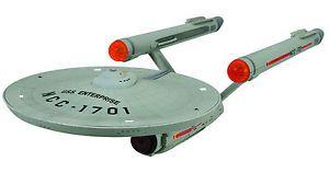 Star Trek TOS USS Enterprise NCC 1701 HD SHIP 16 inch Replica Lights Sound