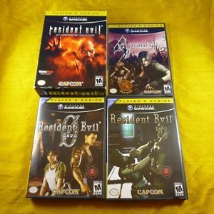 Resident Evil 10th Anniversary Edition Players Choice Nintendo GameCube, 2006
