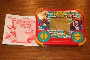 1993 Disney's Goof Troop Electronic LCD Handheld Game by Tiger Electronics
