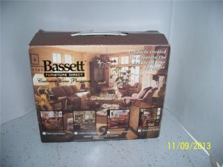 Bassett Furniture Truck Leather Wood Nubuck Fabric Care System Cleaning Kit New