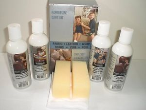 Stainsafe Furniture Care Kit for Fabric Leather and Wood New