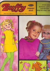 Buffy Family Affair Vintage Paper Doll Book 1968