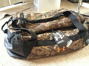 0c6c72625093 Under Armour Digital Camo Duffle Bag New Hunting Fishing Bug Out Duffel  Large
