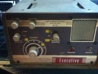 Executive International Crystal Radio