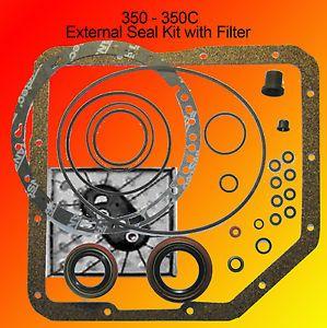 pnr 745045 gm turbo 350 transmission pan gasket filter kit th350 Turbo 350 Pump turbo thm 350 transmission external gasket seal and filter kit 350 350c 250