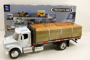 NewRay Freightliner Business Class M2 1 43 Model Flatbed Roll Off Truck N146
