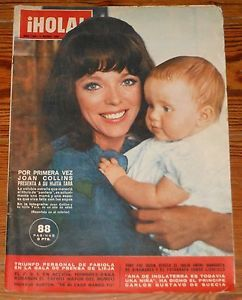 Hola 1964 Joan Collins Nicolas Frances Jacques Charrier Kennedy Family Royalty