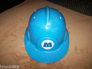 Monsters Inc Disney on Ice Mike Blue Hard Hat Helmet Child's Toy Hard Hat