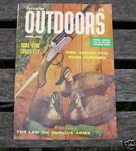 1964 Australian Trout Fly Fishing Hunting Magazine Book