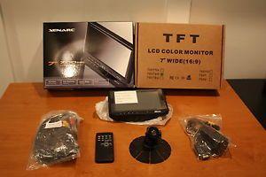 Xenarc 700TSH TFT LCD Touchscreen Monitor LED VGA DVI HDMI A V Car PC